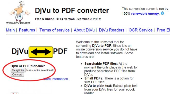 convertire-djvu-pdf-online