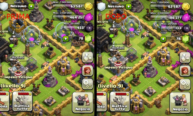 nascondere-elisir-clash-of-clans