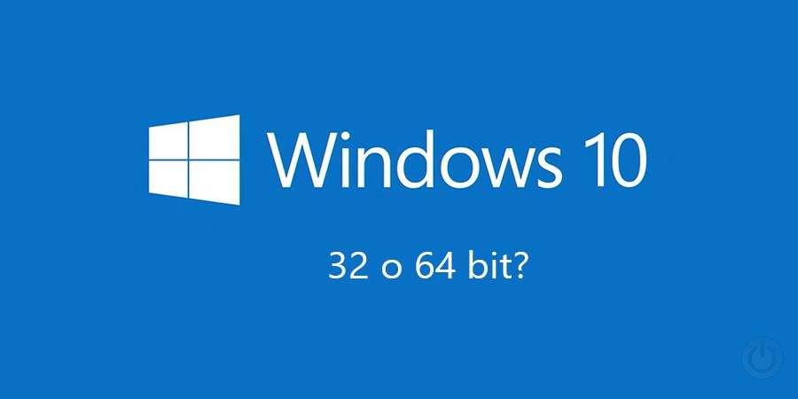 Capire se Windows è a 32 o 64 bit