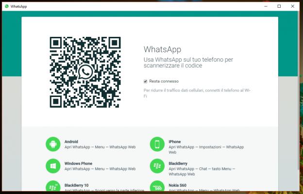 Installare Whatsapp su PC