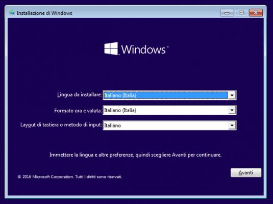 Scaricare Windows 10
