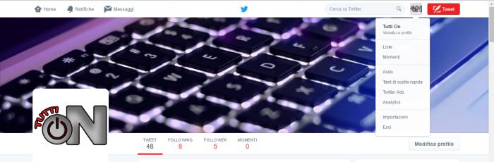 Eliminare Notifiche e-mail Twitter 1
