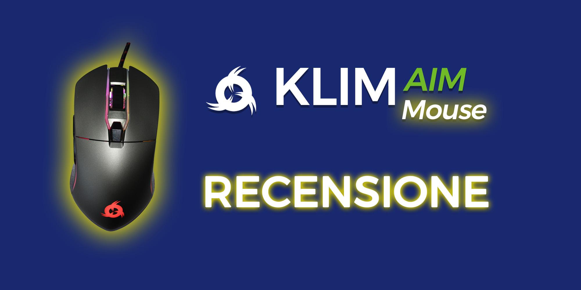 Recensione: Mouse Klim AIM