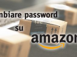 Cambiare Password Amazon