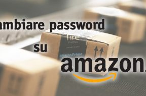 Cambiare Password Amazon