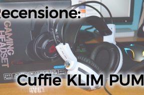 Recensione Cuffie Gaming Klim Puma