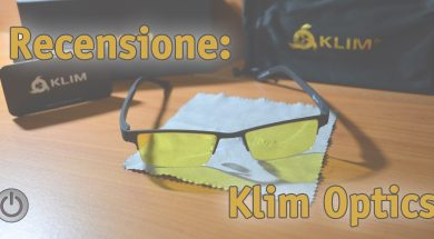 recensione occhiali da pc klim optics