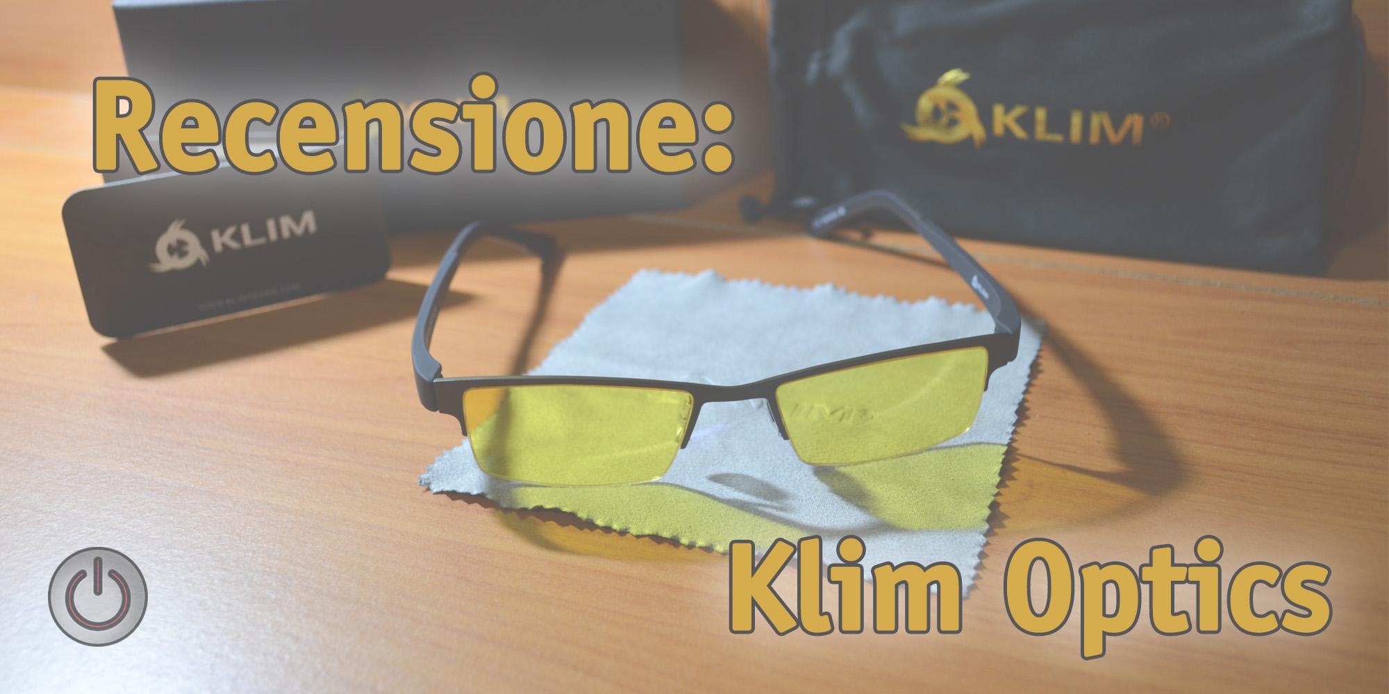 Recensione: Occhiali per PC Klim Optics