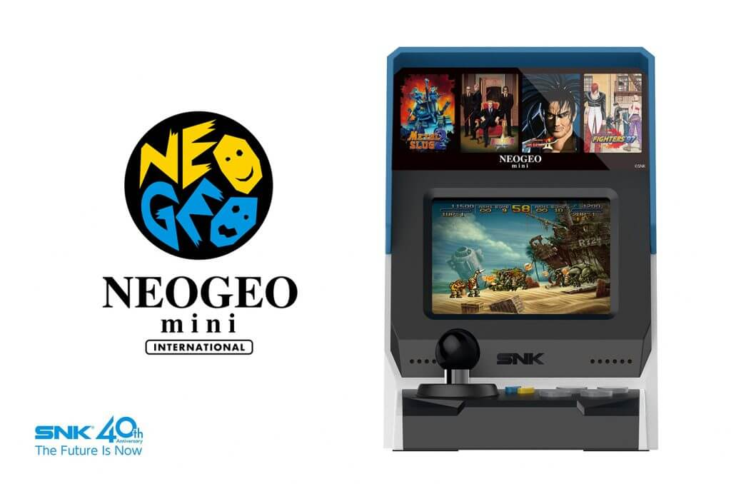 SNK annuncia NEO GEO mini!