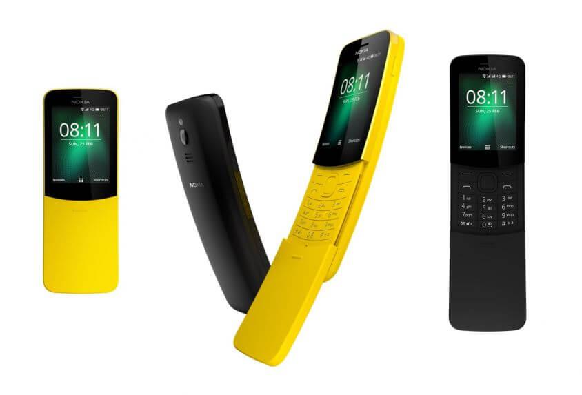 Il Nokia 8110 torna in Italia!